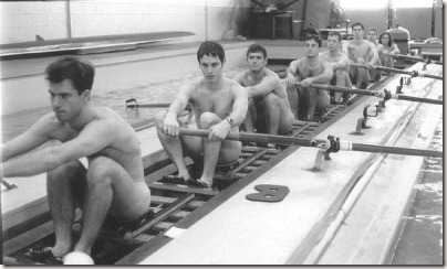 Vintage nude male swimmers